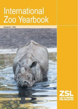 International Zoo Yearbook, Vol. 50 (2016)
