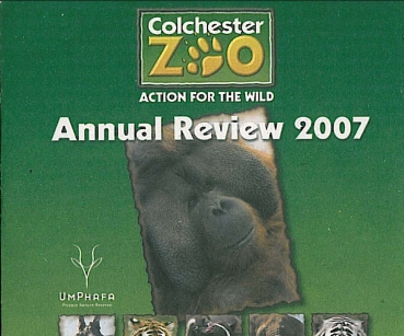 Colchester Zoo: Annual Review 2007 auf CD-ROM
