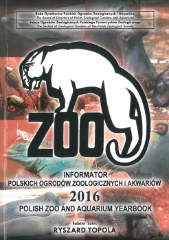 Polish Zoo and Aquarium Yearbook - 2016