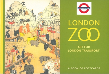 London Zoo - Postkartenbuch