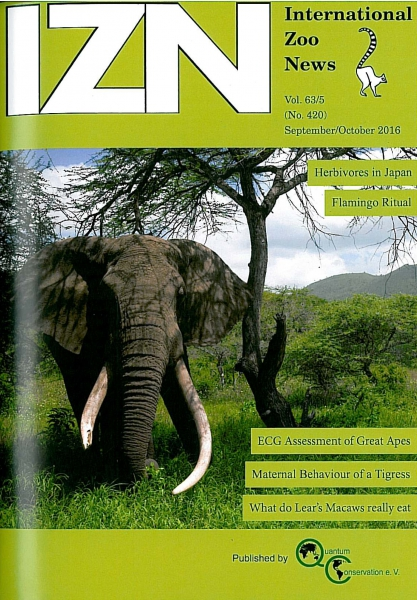 International Zoo News September/October 2016