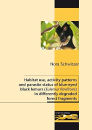 Blue-eyed black lemurs in differently degraded forest fragments